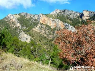 Cazorla - Río Borosa - Guadalquivir; cerezos valle del jerte viajes exóticos meandro de melero